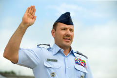 Col Bailey takes CC's Oath