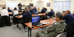 Group 6 members attend Mission Scanner training