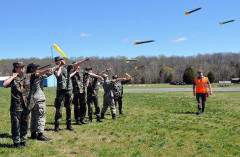 cadets launch rockets