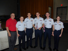 NC Wing Color Guard Team